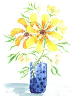 Flowers Everywhere - A Gift Gide by Wanda on Etsy