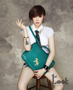 Girls' Generation's Tiffany stuns with a new pictorial for '1st Look'