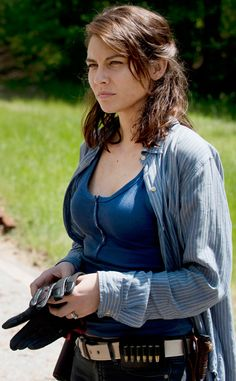 Maggie (Season 6) from The Walking Dead Then & Now: See How Much The Zombie Apocalypse Changed the Cast