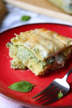 Lasagnes à la crème de courgette | Gourmandiseries