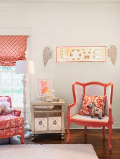 This gorgeous young girls' room with stay stylish as she grows #hgtvmagazine // http://www.hgtv.com/design/decorating/design-101/the-best-designer-tested-decorating-tips-pictures?soc=pinterest