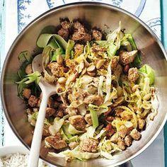 Recept - Kip met spitskool - Allerhande zonder de rijst en met quinoa?