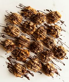 Crunchy, yet soft flapjack Anzac cookies for your weekend baking. Get the recipe on www.lealou.me
