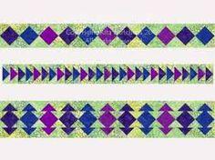 Piano Keys Quilt Border Pattern | Quilt border, Piano keys and Pianos : pieced quilt border ideas - Adamdwight.com