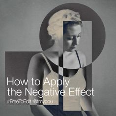 PicsArt's Negative Effect allows you to make your photos look like film negatives.