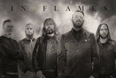 In Flames Band - plakat