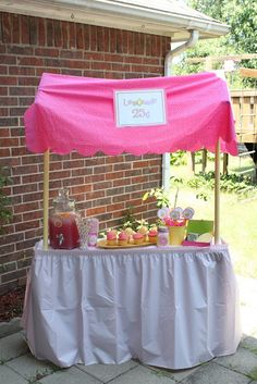 Lemonade Stand {Party}