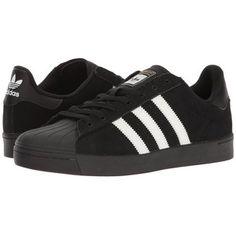 adidas Skateboarding Superstar Vulc ADV (Black/White/Black) Skate Shoes