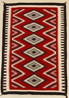 Ganado Navajo Rug Modernsouthwest