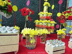 Artte Azione: Decoração Casamento tema Chá Bar Boteco