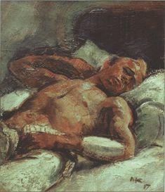 Anton Kolig Paula Modersohn Becker, Max Beckmann, Anton, Ludwig Meidner, Gustav Klimt, Gay Art, Male Beauty, Figure Painting, Painters