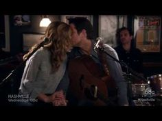 Deacon (Charles Esten) and Rayna (Connie Britton) Sing 'Surrender' - Nashville - YouTube