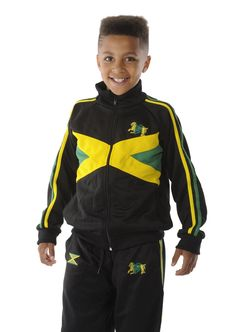 rasta4real CHILDRENS - LION OF JUDAH Rasta JAMAICA FLAG JACKET - Size 3-4Y. Childrens 'Jamaica Jacket'. Unique customised design. Various matching items available. Create your own 'clothing set'. Various sizes available.