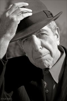 "Leonard Cohen ... Hallelujah. ""It's, as I say, a desire to affirm my faith in life, not in some formal religious way but with enthusiasm, with emotion.... It's a rather joyous song."""