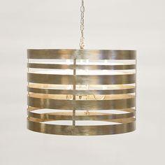 Turner Silver Leafed Pendant