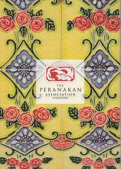 Peranakan/Straits-Chinese tiles...lovely !