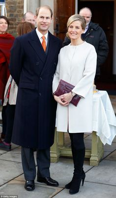Sartorial makeover: The Countess of Wessex, 50, has admitted that she's embraced fashion, ...