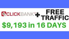 How To Promote ClickBank Products Without a Website with Free Traffic. Read the rest of this entry Make Money Online, How To Make Money, Financial Goals, Business Marketing, Affiliate Marketing, Digital Marketing, Promotion, Website, Learning