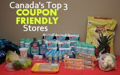 Canada's Top 3 Coupon Friendly Stores via MrsJanuary.com #extremecouponing Save Money On Groceries, Ways To Save Money, Money Tips, Money Saving Tips, Saving Ideas, Store Coupons, Grocery Coupons, Living On A Budget, Frugal Living