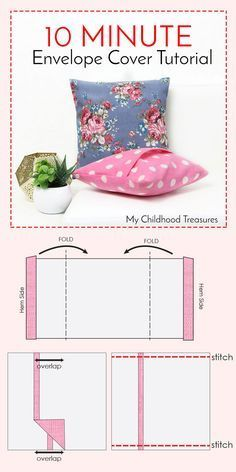 how to make cushion covers
