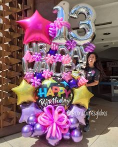 Minnie Mouse Party Decorations, Balloon Decorations Party, Balloon Garland, Balloon Bouquet Delivery, Balloon Delivery, Happy Birthday Flower Bouquet, Cool Paper Crafts, Balloon Centerpieces, Birthday Diy