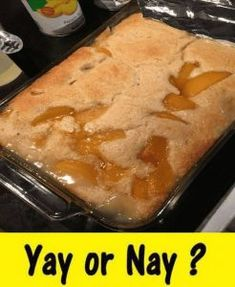 Lazy Peach Cobbler Cobbler Crust, Fruit Cobbler, Cobbler Recipe, Fresh Peach Cobbler, Honey Cornbread, Bread Pudding With Apples, Canned Peaches, Dessert Recipes, Desserts