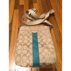 Mini Swingpack Purse (Read description!) Does not have creed inside, I believe because it is a mini, and I do not have authenticity proof. Just to be up front. It is the smaller sized swingpack. Has some wear from normal usage but is still a beautiful bag. I tried to show this in the photos. When I ordered it originally, it came with a coach store receipt. Bags Crossbody Bags
