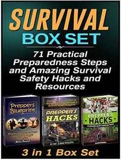 FREE TODAY  -  Survival Box Set: 71 Practical Preparedness Steps and Amazing Survival Safety Hacks and Resources (Survival, Survival Box Set, Preppers survival) by Alvin Powell http://www.amazon.com/dp/B016IT37TW/ref=cm_sw_r_pi_dp_vi2Swb037VZ3K