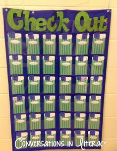 Classroom Library:  How to  Manage and Organize your classroom library books and checking them out to students