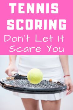 Tennis scoring isn't as scary as you may think.  Learn the basics of how to keep score during a tennis match.  This complete guide to tennis scoring tells you everything you need to know when stepping out on the court. #howtoplaytennis #learntennisfast