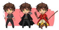 Either Gryffindor or Hufflepuff for Antonio (Pottertalia)