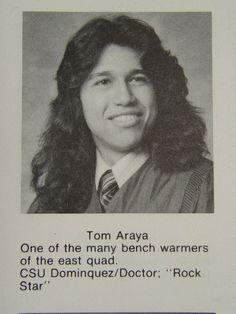 Tom Araya Yearbook Photo