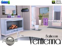 The Sims Resource: Ventienna Bathroom Modern by jomsims • Sims 4 Downloads