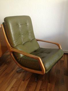 Stylischer Cocktailsessel Loungesessel 60er Jahre Sideboard Teak!!Danish Design!   eBay