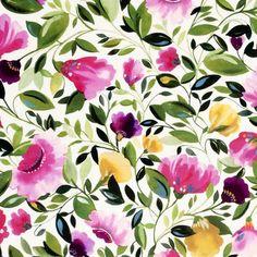 Pattern #F0830 - 1 | Artbook by Kim Parker | Clarke & Clarke Fabric by Duralee