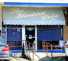 The Bluebird Cafe in Nashville, TN has become a destination for singers & songwriters to perform.