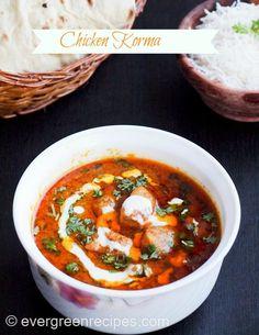 Cuisine of karachi chicken korma murgh qorma chicken korma recipe boneless chicken korma evergreen recipes forumfinder Images