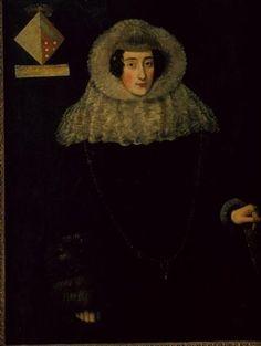 """D. Maria Antónia de Melo, por Domingos Vieira, o """"Escuro""""."""