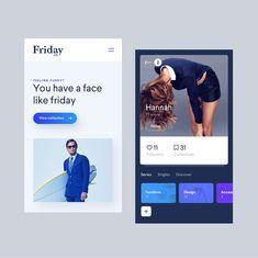 "889 Likes, 16 Comments - Design.bot (@design.bot) on Instagram: ""Friday.co by Jan Raven de Klerk - ✨Get daily inspiration! Follow along. ✨"""