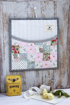 Sweet mail pocket  - inspired by Amy from nana Company - @ Minki's Work Table