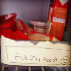 Eat me first - great idea - no more expired foods!