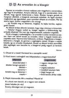 MESÉLŐ SZÖVEGÉRTÉSI MUNKAFÜZET 2. OSZTÁLY - tanitoikincseim.lapunk.hu