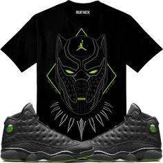 d45deb066edad3 Jordan 13 Altitude Sneaker Tee Shirt to match made by Original Rufnek  Clothing is available onour online store.