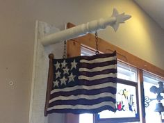 Carved Flag Replacement- Hanging (arrow sold separately)