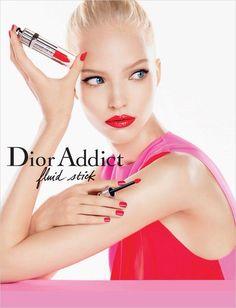 Sasha Luss for Dior Addict SS 2014 Campaign by Steven Meisel #SashaLuss #Dior