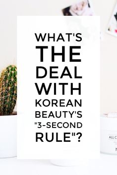 """Trying out the Korean skincare """"3 second rule"""" for better hydrated and plumper skin."""