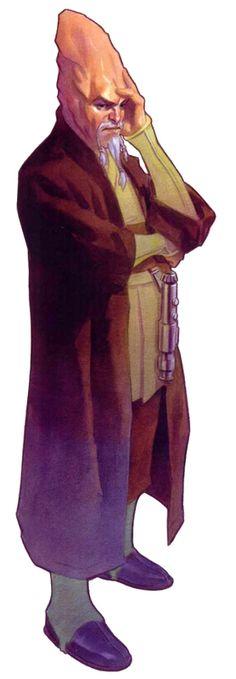 Conehead Jedi M NPC Star Wars RPG