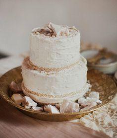 rock inspired cake