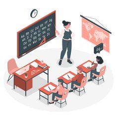 Teaching Customizable Isometric Illustrations | Amico Style