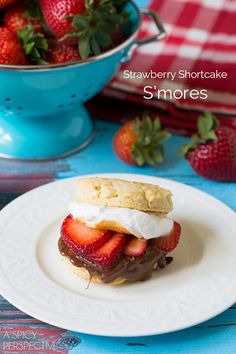 You could wrap your s'mores in a biscuit and add strawberries.